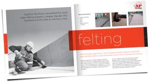AP Roofiing service brochure